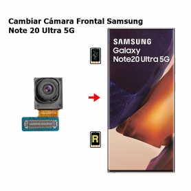 Cambiar Cámara Frontal Samsung Note 20 Ultra 5G