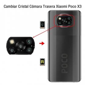Cambiar Cristal Cámara Trasera Xiaomi Poco X3