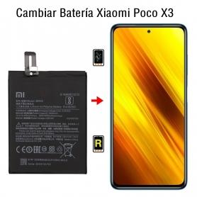 Cambiar Batería Xiaomi Poco X3