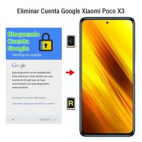 Eliminar Cuenta Google Xiaomi Poco X3