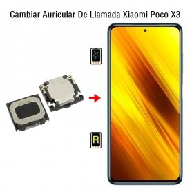 Cambiar Auricular De Llamada Xiaomi Poco X3