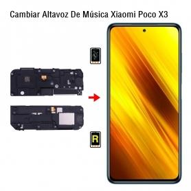 Cambiar Altavoz De Música Xiaomi Poco X3