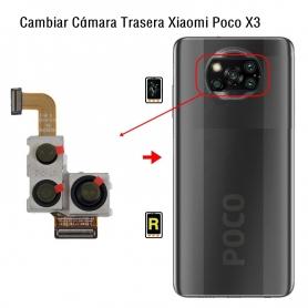 Cambiar Cámara Trasera Xiaomi Poco X3