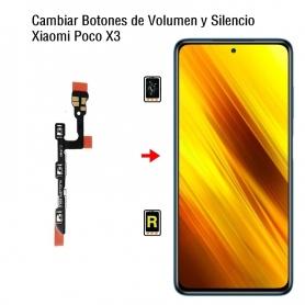 Cambiar Botones de Volumen y Silencio Xiaomi Poco X3