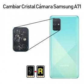 Cambiar Cristal Cámara Trasera Samsung Galaxy A71