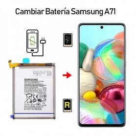 Cambiar Batería Samsung Galaxy A71