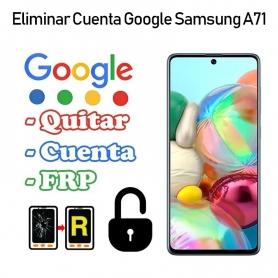 Eliminar Cuenta Google Samsung Galaxy A71