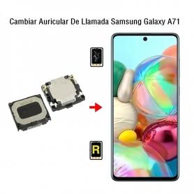 Cambiar Auricular De Llamada Samsung Galaxy A71