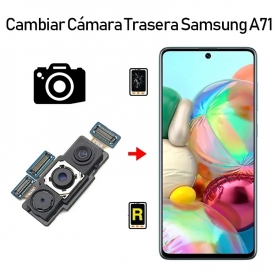 Cambiar Cámara Trasera Samsung Galaxy A71