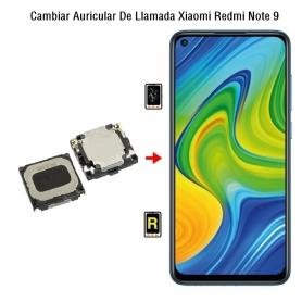 Cambiar Auricular De Llamada Xiaomi Redmi Note 9