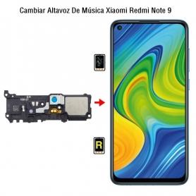 Cambiar Altavoz De Música Xiaomi Redmi Note 9