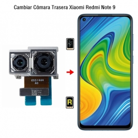 Cambiar Cámara Trasera Xiaomi Redmi Note 9