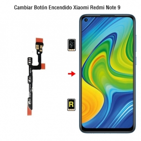 Cambiar Botón Encendido Xiaomi Redmi Note 9