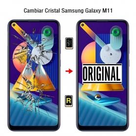 Cambiar Cristal Samsung Galaxy M11