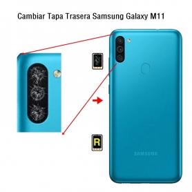 Cambiar Cristal Cámara Trasera Samsung Galaxy M11