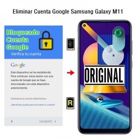 Eliminar Cuenta Google Samsung Galaxy M11