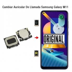 Cambiar Auricular De Llamada Samsung Galaxy M11