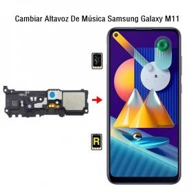 Cambiar Altavoz De Música Samsung Galaxy M11