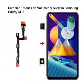 Cambiar Botones de Volumen y Silencio Samsung Galaxy M11