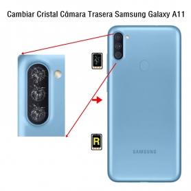 Cambiar Cristal Cámara Trasera Samsung Galaxy A11