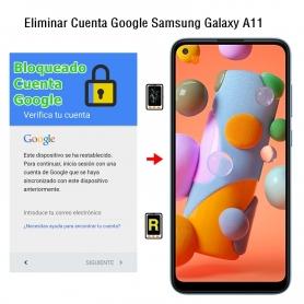 Eliminar Cuenta Google Samsung Galaxy A11