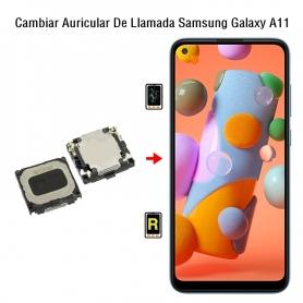 Cambiar Auricular De Llamada Samsung Galaxy A11