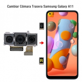 Cambiar Cámara Trasera Samsung Galaxy A11