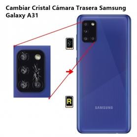Cambiar Cristal Cámara Trasera Samsung Galaxy A31