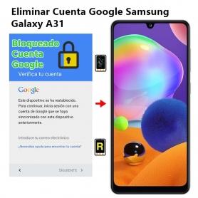 Eliminar Cuenta Google Samsung Galaxy A31