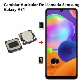 Cambiar Auricular De Llamada Samsung Galaxy A31