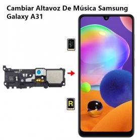 Cambiar Altavoz De Música Samsung Galaxy A31