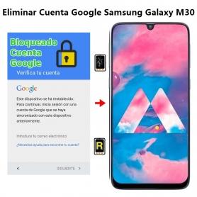 Eliminar Cuenta Google Samsung Galaxy M30