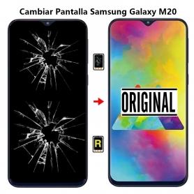 Cambiar Pantalla Samsung Galaxy M20