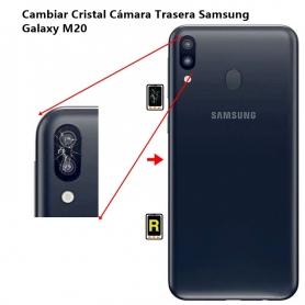 Cambiar Cristal Cámara Trasera Samsung Galaxy M20