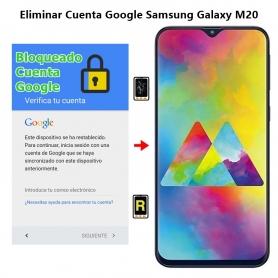 Eliminar Cuenta Google Samsung Galaxy M20