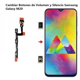 Cambiar Botones de Volumen y Silencio Samsung Galaxy M20