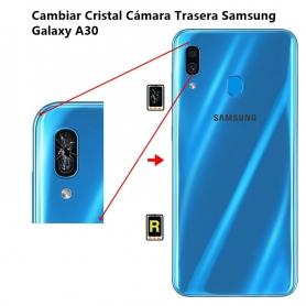 Cambiar Cristal Cámara Trasera Samsung Galaxy A30