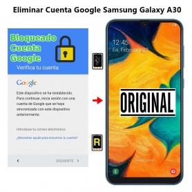 Eliminar Cuenta Google Samsung Galaxy A30