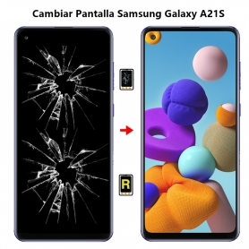 Cambiar Pantalla Samsung Galaxy A21S