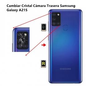 Cambiar Cristal Cámara Trasera Samsung Galaxy A21S
