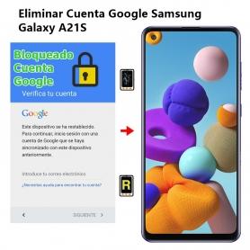Eliminar Cuenta Google Samsung Galaxy A21S