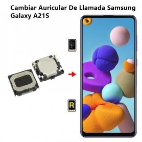 Cambiar Auricular De Llamada Samsung Galaxy A21S