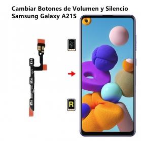Cambiar Botones de Volumen y Silencio Samsung Galaxy A21S
