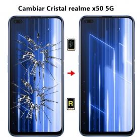 Cambiar Cristal realme x50 5G