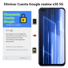 Eliminar Cuenta Google realme x50 5G