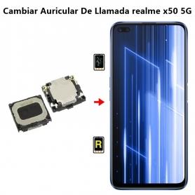 Cambiar Auricular De Llamada realme x50 5G