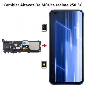 Cambiar Altavoz De Música Realme x50 5G