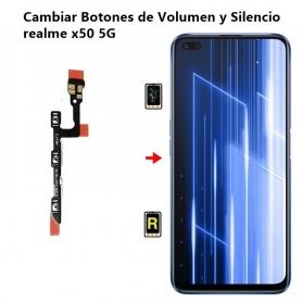 Cambiar Botones de Volumen y Silencio realme x50 5G