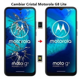 Cambiar Cristal Motorola G8 Lite