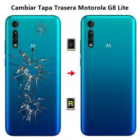 Cambiar Tapa Trasera Motorola G8 Lite